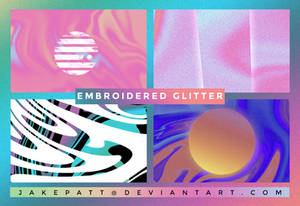 Embroidered Glitter - Texture Pack #31