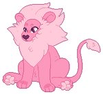 Lion ( animated) by panicpuppy