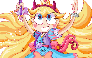 Star Butterfly by cutgut