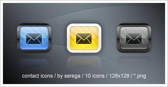 Contact Icons by serega