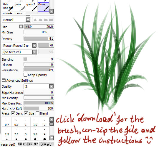 Paint Tool Sai English Pack Full Free Download