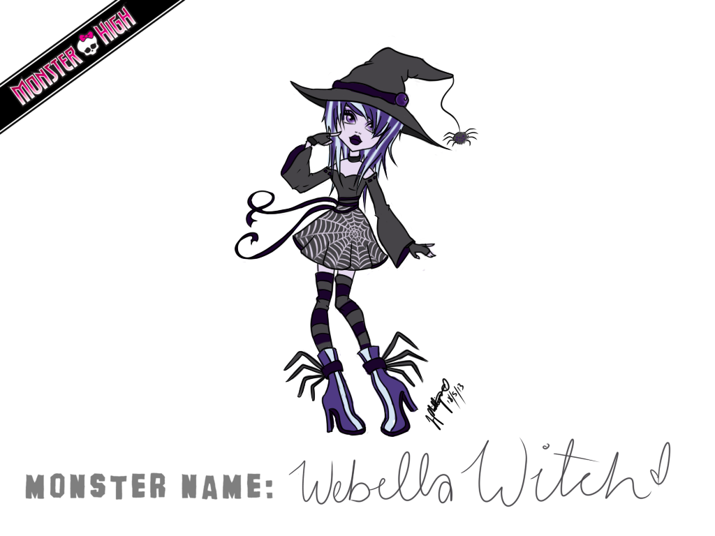 Webella Witch by MangaCrazy101