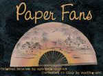 Paper Fans by Spiritsighs