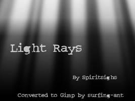 Spiritsighs Lightrays by surfing-ant