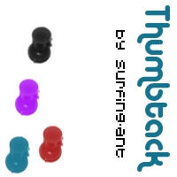 Thumbtack by surfing-ant