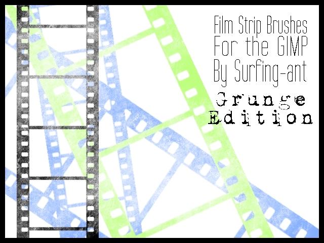 Filmstrip Brushes - Grunge