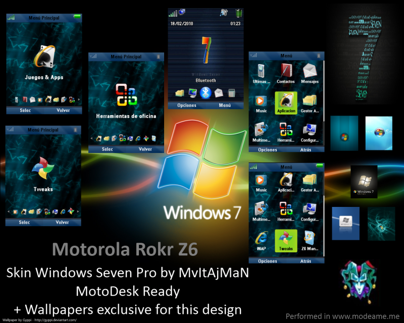 Windows 7 Pro by MAG-Line-Makers
