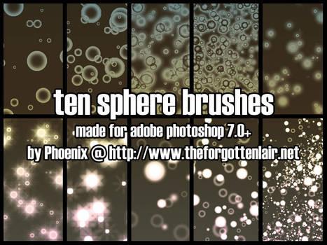 Sphere Brushes