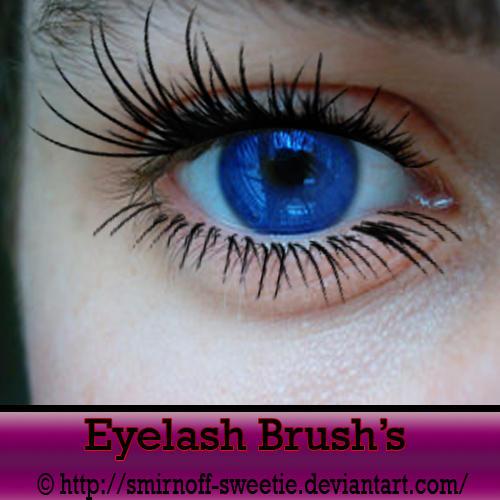 Eyelash Brushes by Smirnoff-Sweetie