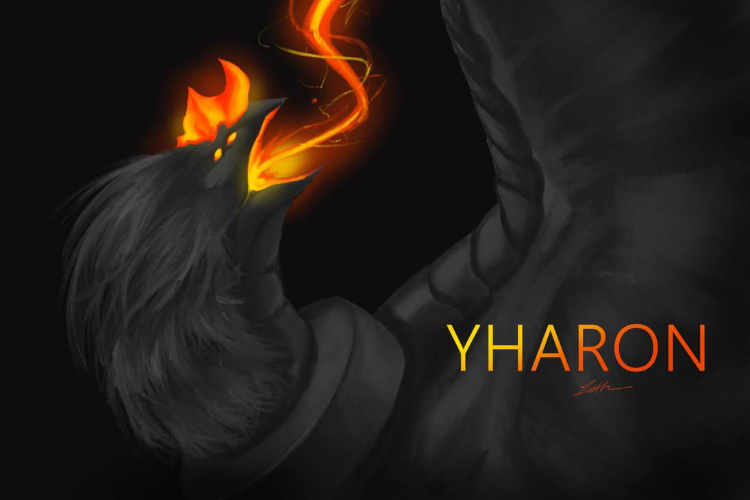 Yharon , Jungle Dragon Calamity Mod Terraria by Zetta-Aznec