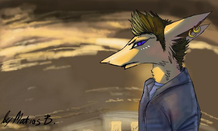 Sky dude by MatiasBloodbones