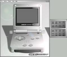 Gameboy Advance SP Skin