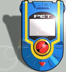 Megaman Battle Network PET by TheCloudOfSmoke