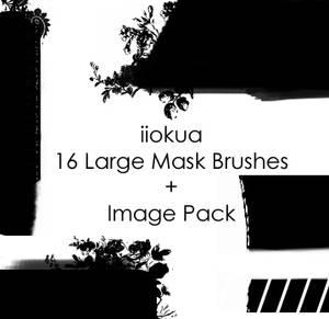 16 Large Mask Brushes