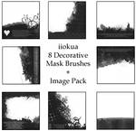 8 Decorative Mask Brushes