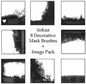 8 Decorative Mask Brushes