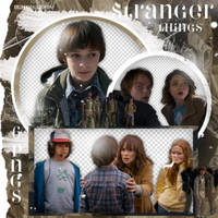 #PACK PNG# Stranger Things S2. by MarEditions1