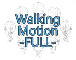 Character Walking Motion Check by ParsueChoi