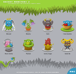 Basket Monsters 2 for Mac OS X