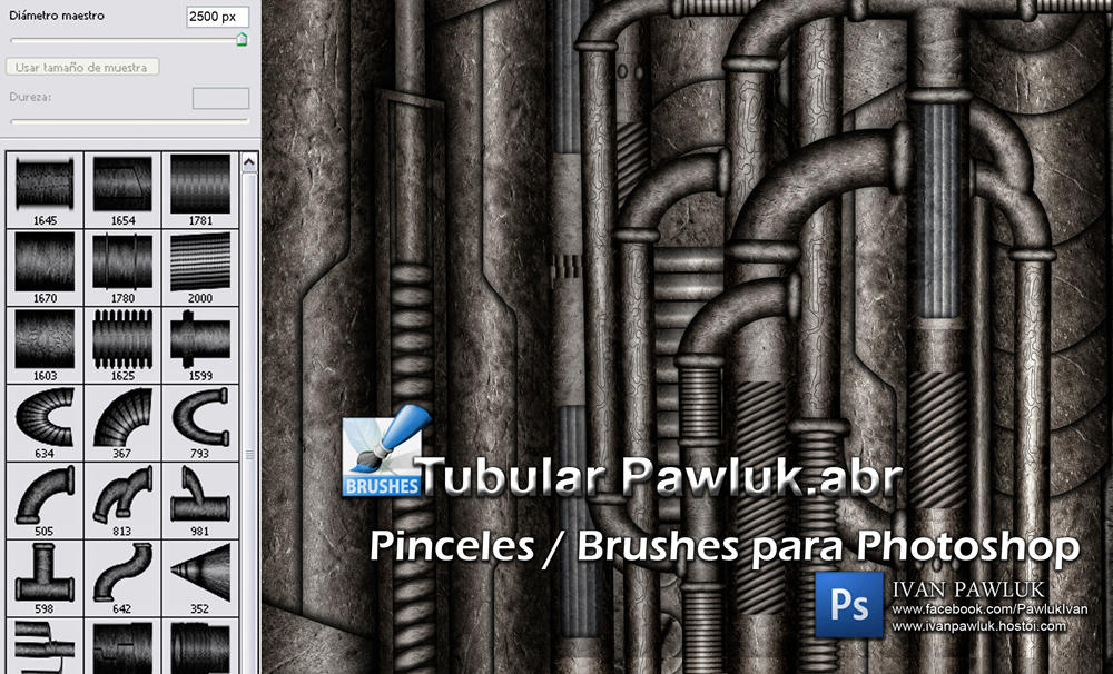 Brushes Tubular Pawluk by ipawluk