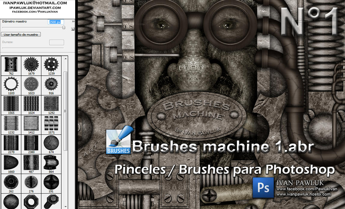 Brushes machine 1 - PAWLUK