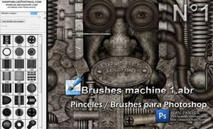 Brushes machine 1 - PAWLUK