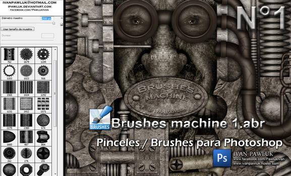 Brushes machine 1 - PAWLUK by ipawluk