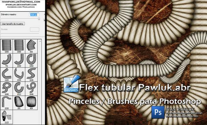 Flex tubular Pawluk  Brushes