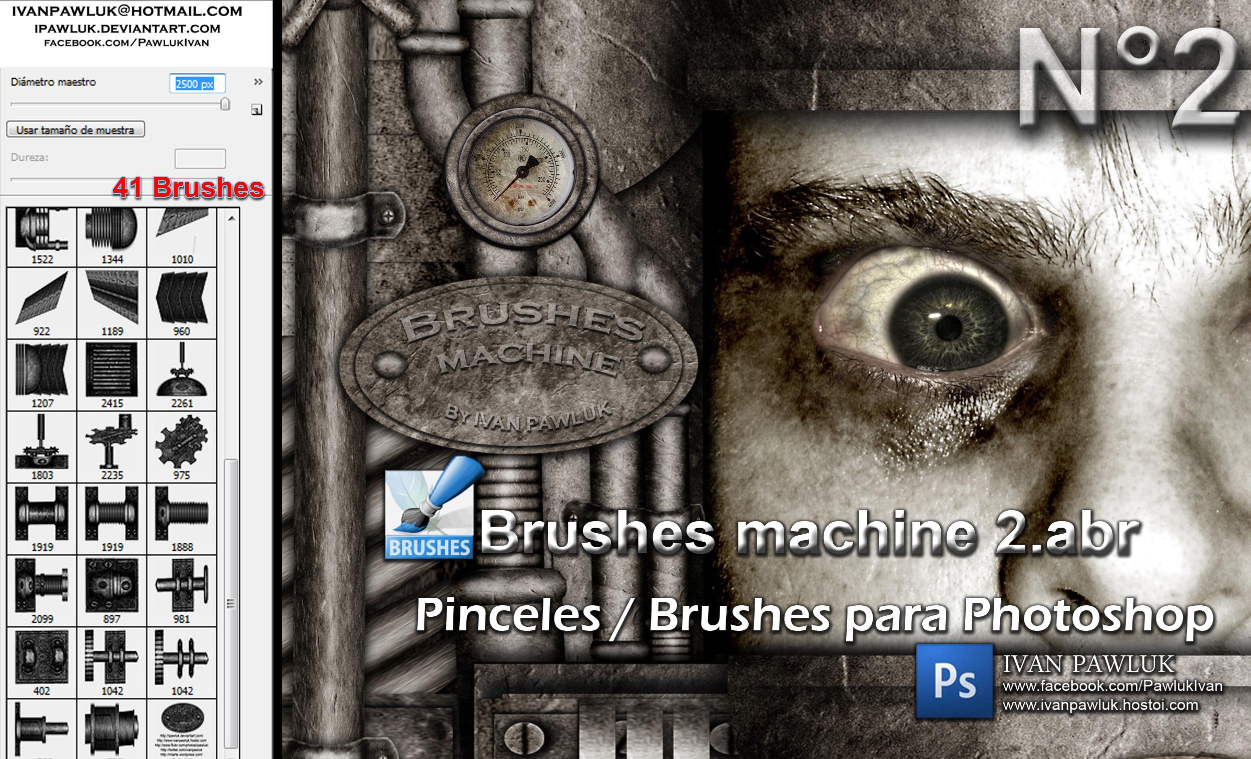 Brushes machine 2 - PAWLUK