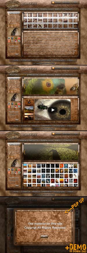 Coffee website - Pawluk