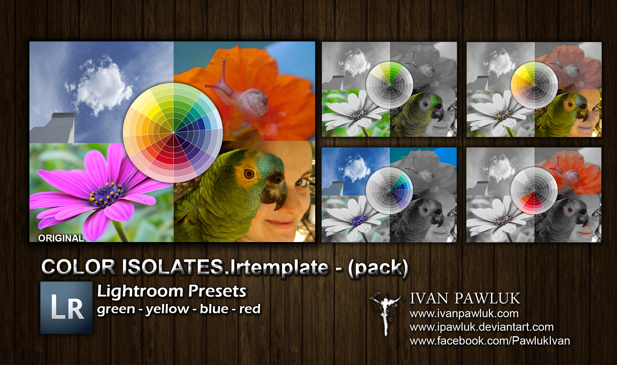 Presets Pawluk -color isolates