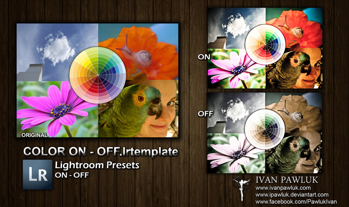 Presets Pawluk color on - off by ipawluk