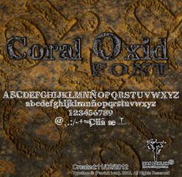 Coral Oxid  font Pawluk