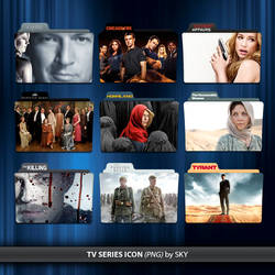 TV Series Icon pack 25