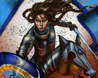 Fingon the Valiant by Mellaril