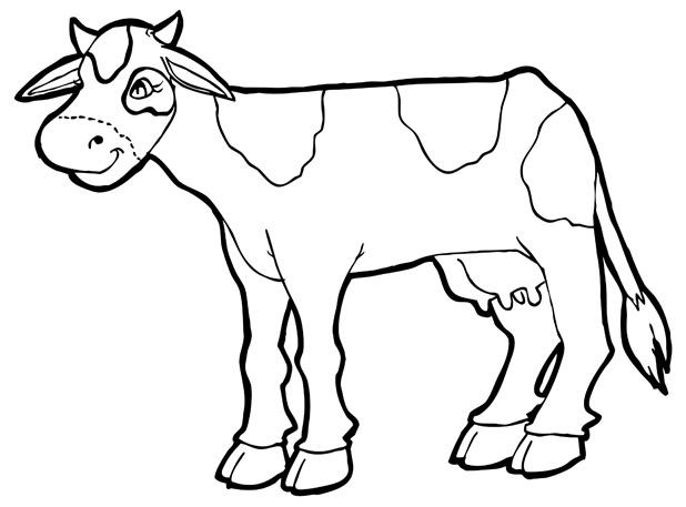 Coloring Book: Cow by Pommegranite on DeviantArt