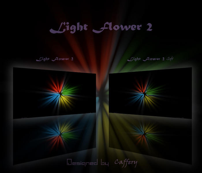 Light Flower 2 by Caffery