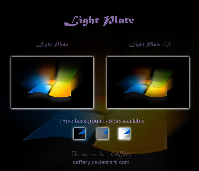 Light Plate by Caffery