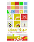 TextColorShape Textures