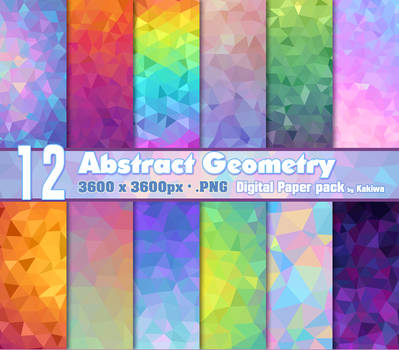 Abstract Geometry Paper Pack