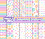 Rainbow Pastel Pattern Pack