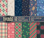 Christmas Pattern Pack by Kakiwa