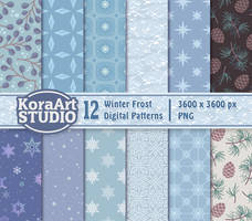 Winter Frost Pattern Pack