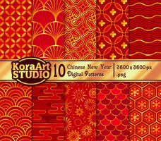 Chinese New Year - Pattern Pack