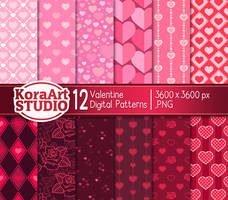 Valentine Pattern Pack