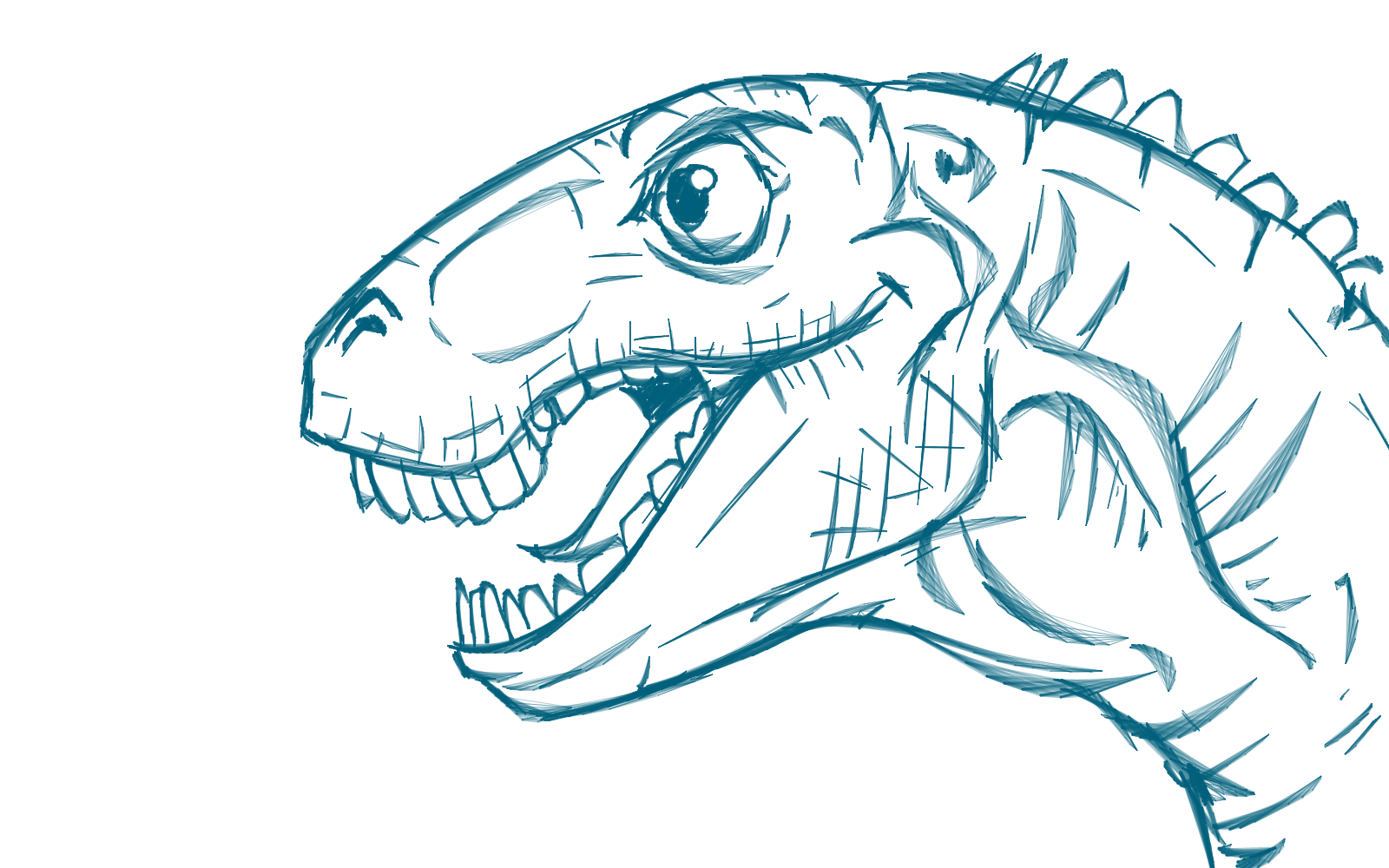 Dino Head 4 by stroggtank