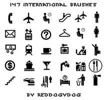 147 international brushes