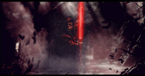 Darth Yoda - Animated - 3D Effect