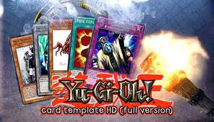 Yu-Gi-Oh! Card Template HD {version 2}