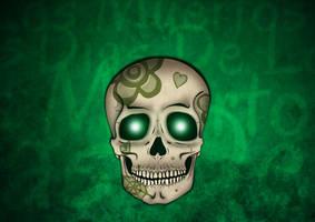 Paint-on Mockup for dias de los muertos by ninahagn